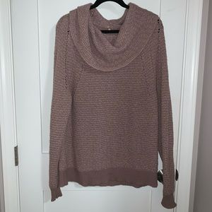 Free People Cowl-neck Sweater
